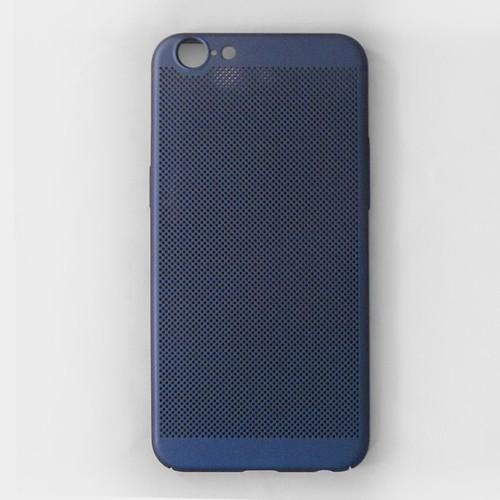 Ốp lưng Oppo A57 tản nhiệt xanh đen