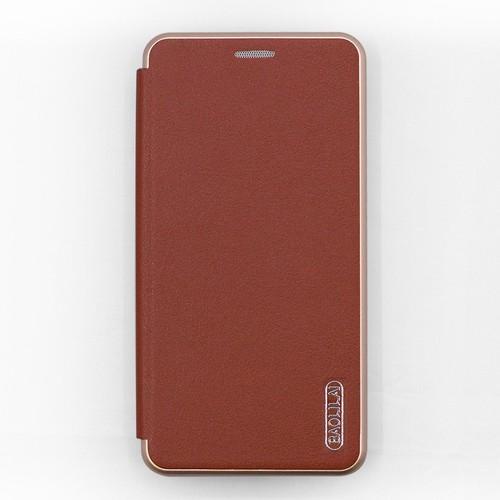 Bao da Oppo F5 hiệu Baolilai cao cấp nâu