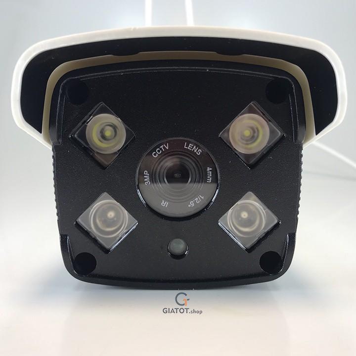 Camera wifi Yoosee ngoài trời Full HD 1080P đêm có màu JW-AP1020S 3