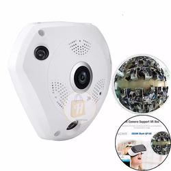 THANH LÝ CŨ – Camera IP VR 360 độ quay khắp 4 góc phòng có hồng ngoại