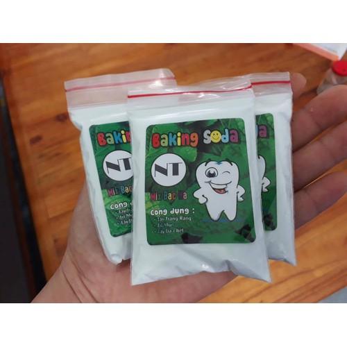 Combo 3 gói Bột trắng răng Baking Soda mix bạc hà - 6507704 , 13152737 , 15_13152737 , 68000 , Combo-3-goi-Bot-trang-rang-Baking-Soda-mix-bac-ha-15_13152737 , sendo.vn , Combo 3 gói Bột trắng răng Baking Soda mix bạc hà