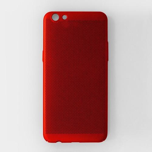 Ốp lưng Oppo R9S Plus tản nhiệt đỏ