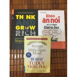 Combo bí mật tư duy , 13 nguyên tắc , khéo ăn nói
