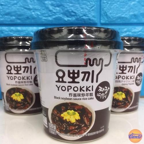 Bánh gạo Topokki vị Tương đen 140gr