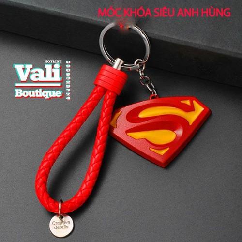 Móc khóa siêu anh hùng kèm dây - huy hiệu Super Man - 5483554 , 11872715 , 15_11872715 , 68000 , Moc-khoa-sieu-anh-hung-kem-day-huy-hieu-Super-Man-15_11872715 , sendo.vn , Móc khóa siêu anh hùng kèm dây - huy hiệu Super Man