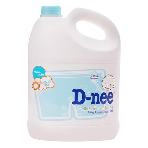 Nước giặt xả Dnee Xanh Thái 3000ml