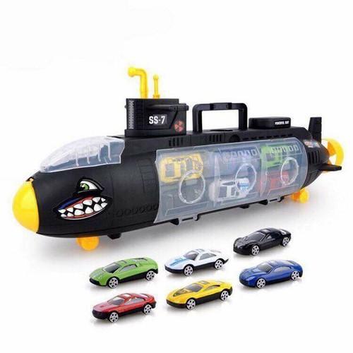 Bộ đồ chơi tàu ngầm cá mập chở ô tô - 5501450 , 11895099 , 15_11895099 , 174000 , Bo-do-choi-tau-ngam-ca-map-cho-o-to-15_11895099 , sendo.vn , Bộ đồ chơi tàu ngầm cá mập chở ô tô