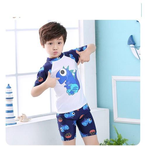Đồ bơi cho bé trai hình khủng long kèm nón - 5501046 , 11894646 , 15_11894646 , 160000 , Do-boi-cho-be-trai-hinh-khung-long-kem-non-15_11894646 , sendo.vn , Đồ bơi cho bé trai hình khủng long kèm nón