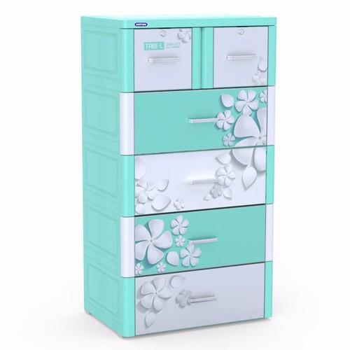 Tủ nhựa Duy Tân TABI-L 5 tầng  xanh dương hoa sứ - 5505632 , 11901214 , 15_11901214 , 1950000 , Tu-nhua-Duy-Tan-TABI-L-5-tang-xanh-duong-hoa-su-15_11901214 , sendo.vn , Tủ nhựa Duy Tân TABI-L 5 tầng  xanh dương hoa sứ