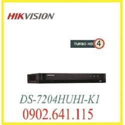 đầu ghi hình 4 kênh DS-7204HUHI-K1 hỗ trợ cổng alarm