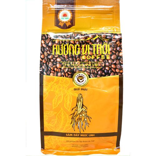 Cà phê nguyên chất Hương Vị Trời sâm dây Ngọc Linh [Tặng Phin pha cà phê]