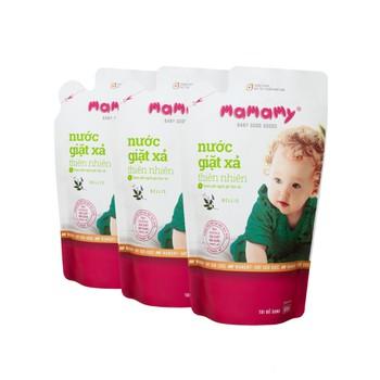 Combo 3 túi bổ sung nước giặt xả thiên nhiên Mamamy hương Bellis
