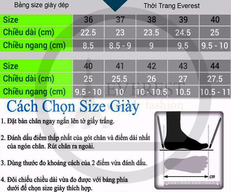 Giày sandal nam cao cấp xuất khẩu thời trang Everest A531 5