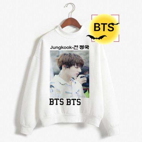 Áo nỉ sweater nam nữ hình BTS JUNGKOOK