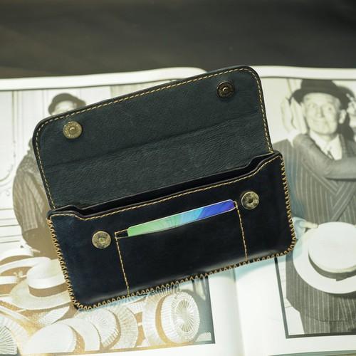 Bao da đeo hông cho điện thoại Samsung Note 9 - Bao da Handmade VI035