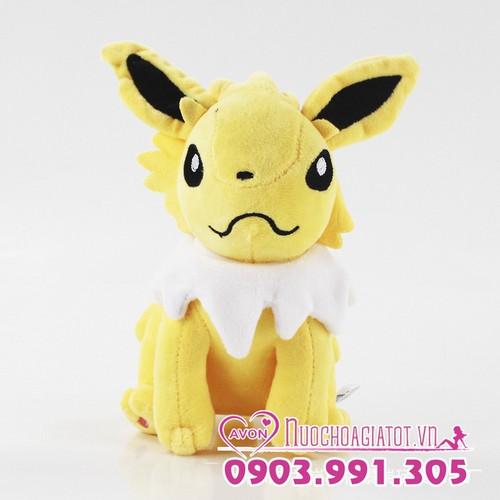 Gấu bông Pokemon Go Eevee Ivy Jolteon tặng túi quà Jolteon 18cm - 5495417 , 11887868 , 15_11887868 , 139000 , Gau-bong-Pokemon-Go-Eevee-Ivy-Jolteon-tang-tui-qua-Jolteon-18cm-15_11887868 , sendo.vn , Gấu bông Pokemon Go Eevee Ivy Jolteon tặng túi quà Jolteon 18cm