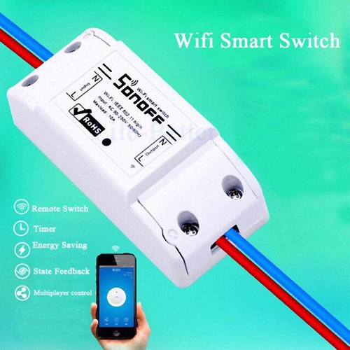 Sonoff Basic 10A Công Tắc Điều Khiển Từ Xa Qua Wifi, 3G, 4G - 4521442 , 12682949 , 15_12682949 , 110000 , Sonoff-Basic-10A-Cong-Tac-Dieu-Khien-Tu-Xa-Qua-Wifi-3G-4G-15_12682949 , sendo.vn , Sonoff Basic 10A Công Tắc Điều Khiển Từ Xa Qua Wifi, 3G, 4G