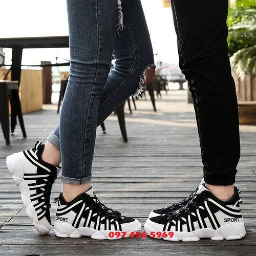 Giày nam, giày đôi thể thao, giày cặp nam nữ
