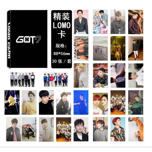 Bộ Lomo Card GOT7