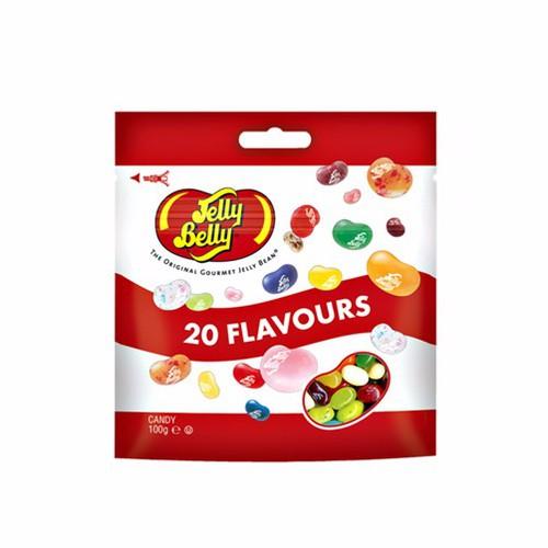 Kẹo dẻo Jelly Belly trái cây 20 vị – gói 100g - 5506212 , 11902050 , 15_11902050 , 92000 , Keo-deo-Jelly-Belly-trai-cay-20-vi-goi-100g-15_11902050 , sendo.vn , Kẹo dẻo Jelly Belly trái cây 20 vị – gói 100g