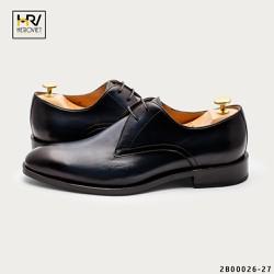 Giày nam công sở Handmade da thật xanh đen APCN 2B00026-27