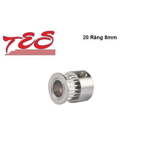 Puly GT2 20 răng 8mm  1 cặp