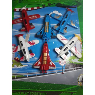 Bộ 6 máy bay thể thao chạy trớn - gd512 thumbnail