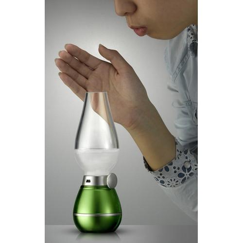 Đèn Dầu LED điện tử cảm ứng thổi tắt bật