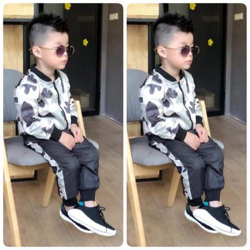 Bộ quần áo gió thể thao cho bé trai siêu chất - 5519485 , 11917810 , 15_11917810 , 169000 , Bo-quan-ao-gio-the-thao-cho-be-trai-sieu-chat-15_11917810 , sendo.vn , Bộ quần áo gió thể thao cho bé trai siêu chất