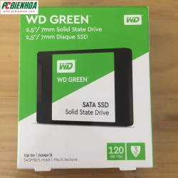Ổ Cứng SSD WD Green WDS120G1G0A – 120GB - WD Green WDS120G1G0A