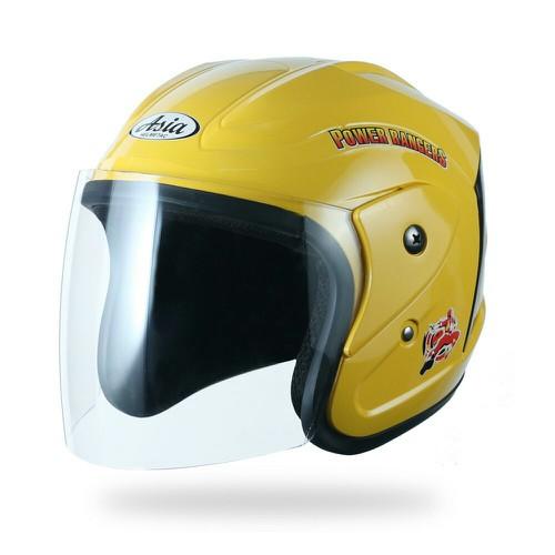 Mũ Bảo Hiểm Hiểm Trẻ em A Sia MT122 Màu Vàng