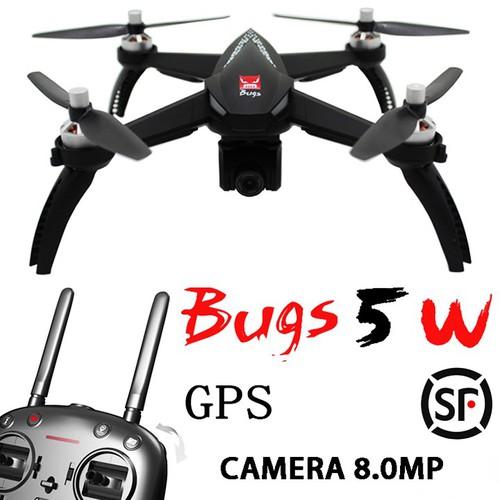Máy bay MJX bugs 5W - GPS, follow me ,cam 1080P xoay 360 độ