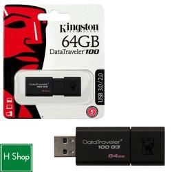 USB 64GB 3.0 DT100G3, chính hãng, bảo hành 2 năm...