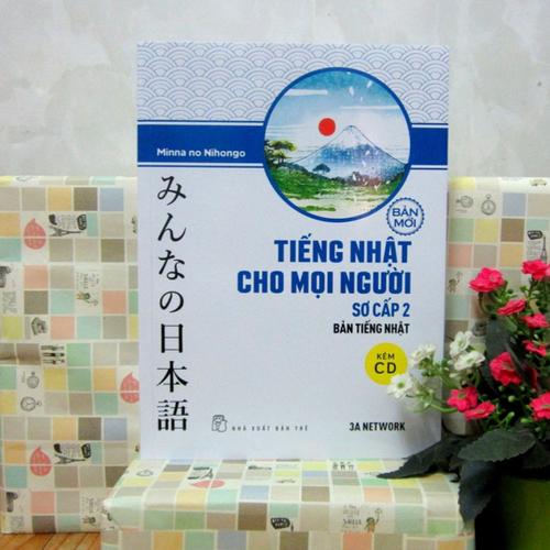 Sách Tiếng Nhật cho mọi người trình độ Sơ cấp 2 Bản tiếng Nhật