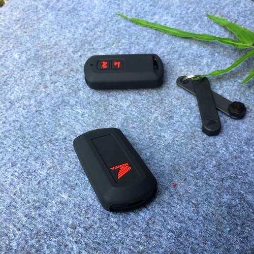 Bọc khóa smartkey Honda Lead, Airblade AB, Vision, Vario màu Đen