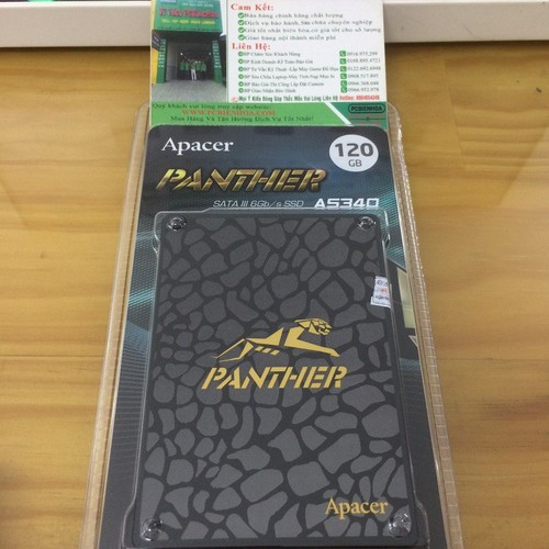 Ổ cứng SSD Apacer Panther 120GB AS340 - 5509687 , 11906238 , 15_11906238 , 590000 , O-cung-SSD-Apacer-Panther-120GB-AS340-15_11906238 , sendo.vn , Ổ cứng SSD Apacer Panther 120GB AS340