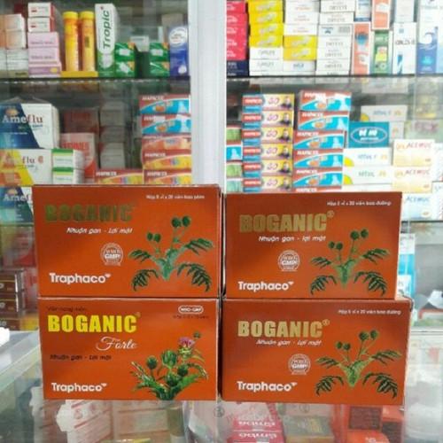 BOGANIC - Viên uống bổ gan, giải độc, mát gan