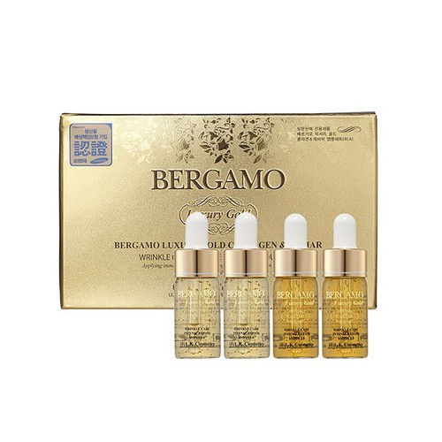 Bộ 4 chai Serum Bergamo Luxury Gold