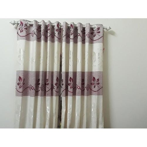 Rèm cửa cao cấp vải gấm kích thước  2 tấm x120x230cm