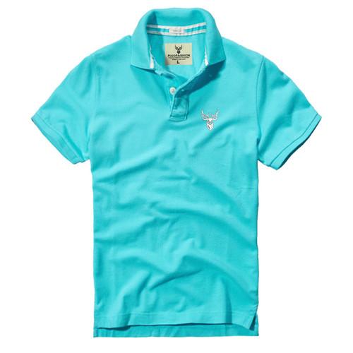 Áo thun nam cổ bẻ chuẩn mọi phong cách Pigo AB03 - 8 - xanh biển