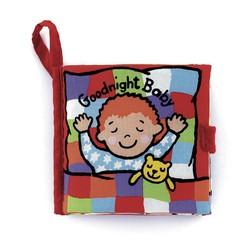 Sách vải Jolly Baby Goodnight chủ đề lật mở giúp bé nhận diện màu sắc.