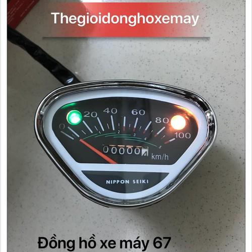 đồng hồ xe máy 67