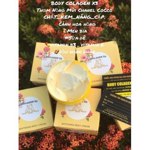 Kem dưỡng trắng da body collagen x3 chính hãng - 16902577 , 11909514 , 15_11909514 , 150000 , Kem-duong-trang-da-body-collagen-x3-chinh-hang-15_11909514 , sendo.vn , Kem dưỡng trắng da body collagen x3 chính hãng