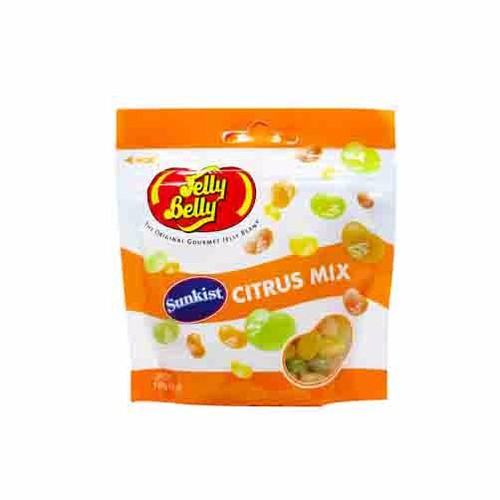 "Kẹo dẻo Jelly Belly Cam chanh ""Citrus mix"" – gói 100g"