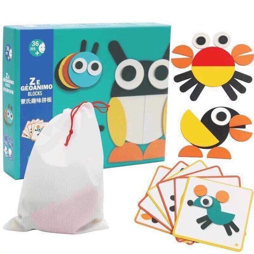 Bộ đồ chơi xếp hình theo phương pháp Montessori Fun Board - 5531160 , 11934253 , 15_11934253 , 109000 , Bo-do-choi-xep-hinh-theo-phuong-phap-Montessori-Fun-Board-15_11934253 , sendo.vn , Bộ đồ chơi xếp hình theo phương pháp Montessori Fun Board