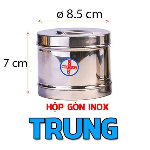 HỘP GÒN INOX VITA ĐÚC TRUNG 8.5cm X 7cm- có nắp - 5539206 , 11943849 , 15_11943849 , 40000 , HOP-GON-INOX-VITA-DUC-TRUNG-8.5cm-X-7cm-co-nap-15_11943849 , sendo.vn , HỘP GÒN INOX VITA ĐÚC TRUNG 8.5cm X 7cm- có nắp