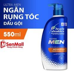 Dầu Gội Cho Nam Head Shoulders UltraMen Ngăn rụng tóc 550ml