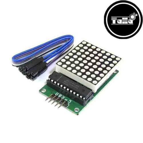 Module Điều Khiển LED MaTrix - Chip 7219 Giá Rẻ-Linh Kiện Điện Tử TuHu