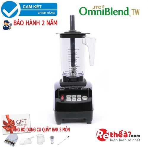 Máy xay sinh tố công nghiệp Omniblend v TM800A - Hàng JTC Đài Loan