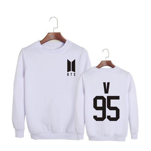Áo nỉ sweater nam nữ BTS 95 V logo